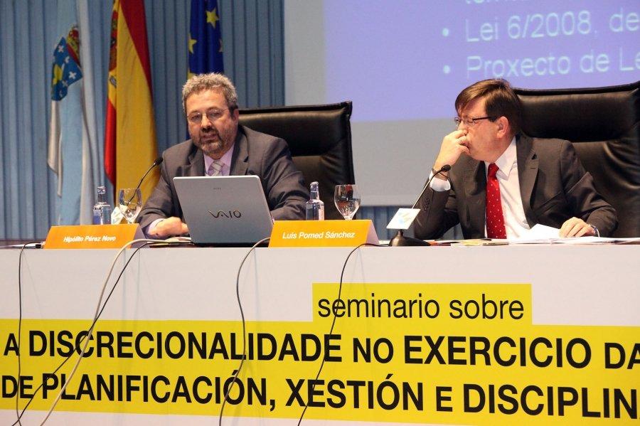 Luis Pomed Sánchez, Letrado do Tribunal Constitucional